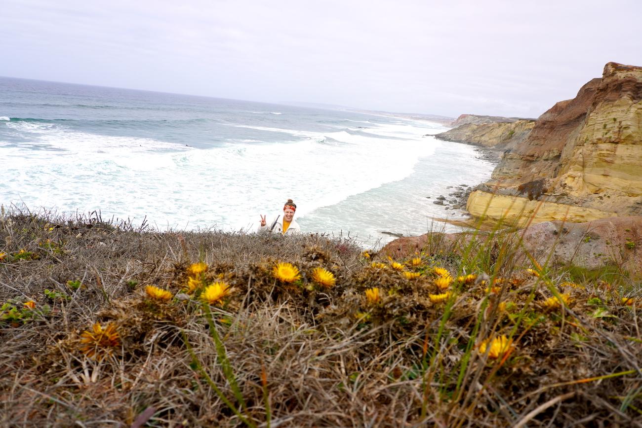 Peniche, cliffs, ocean