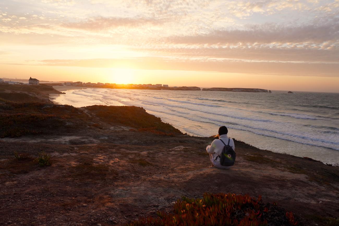 Sunset, Peniche, Cliffs