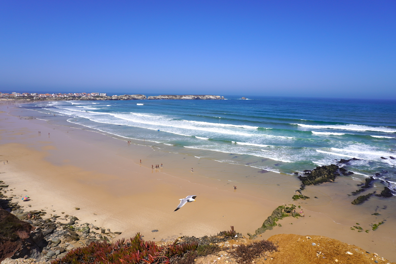 best location for surfing in Peniche