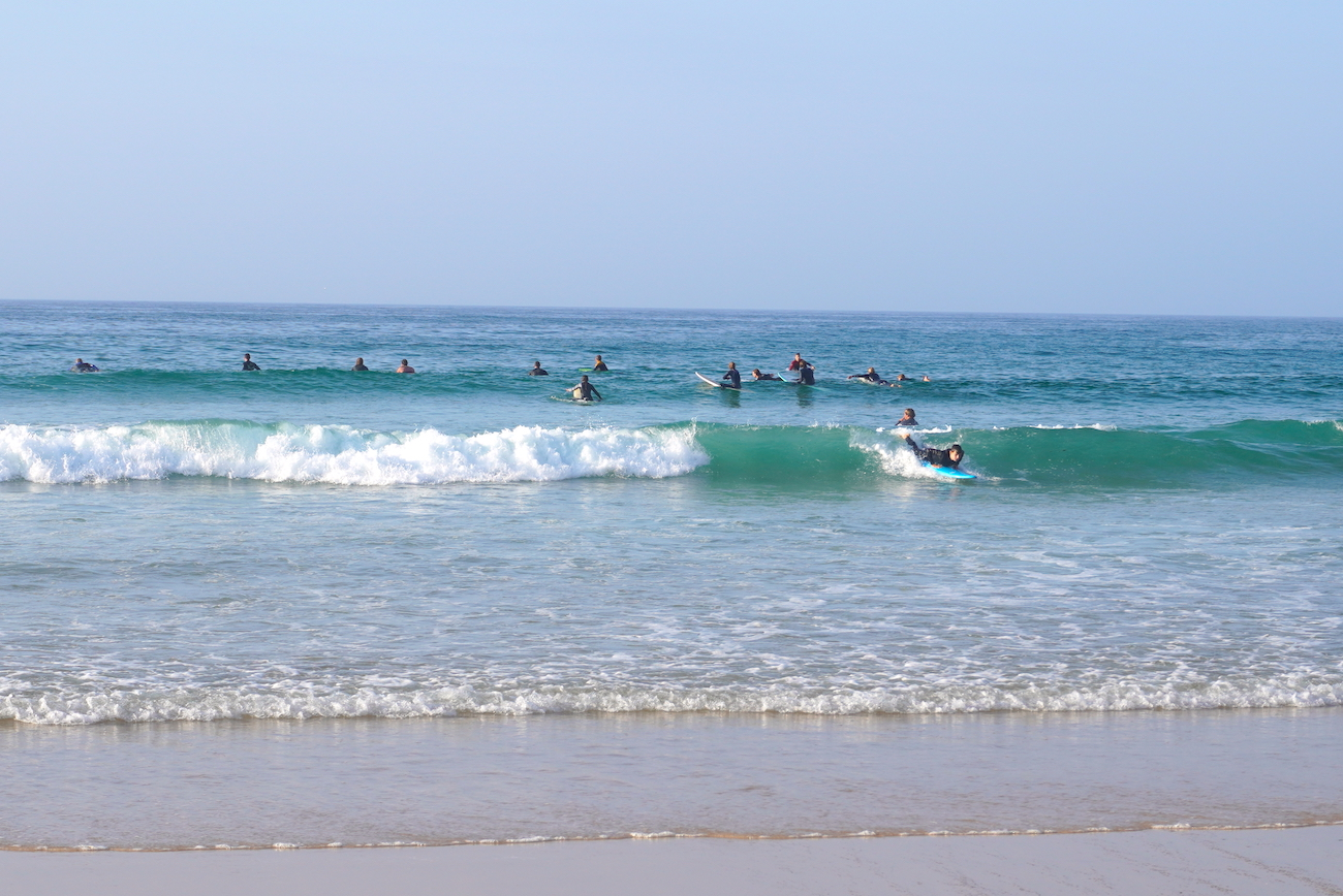 surfing for beginners, Peniche