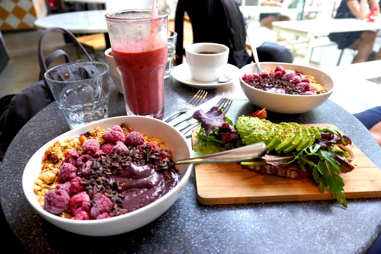 My Goodness, Café, Food