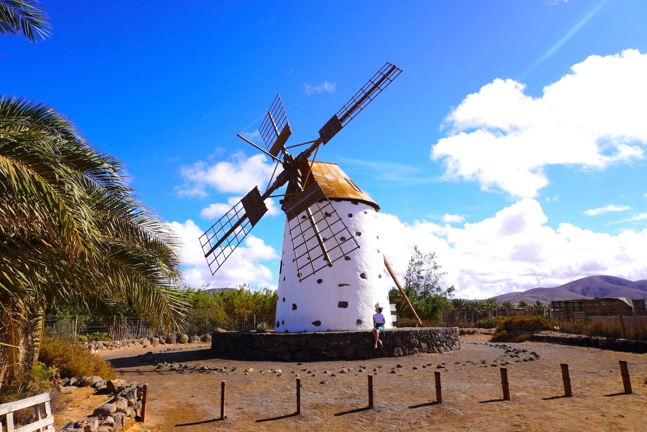 El Cotillo, windmill